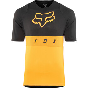 Fox Defend Moth Maillot manches courtes Homme, atomic orange